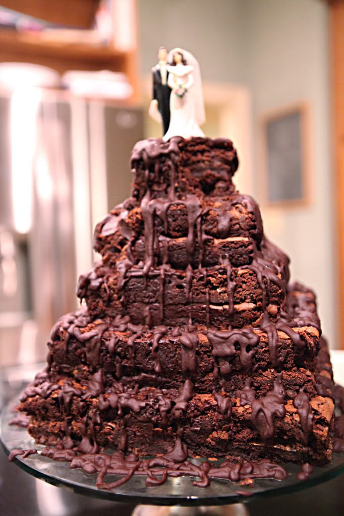 how to make chocolate fudge wedding cake top 10 brownie wedding cakes wedded 15922