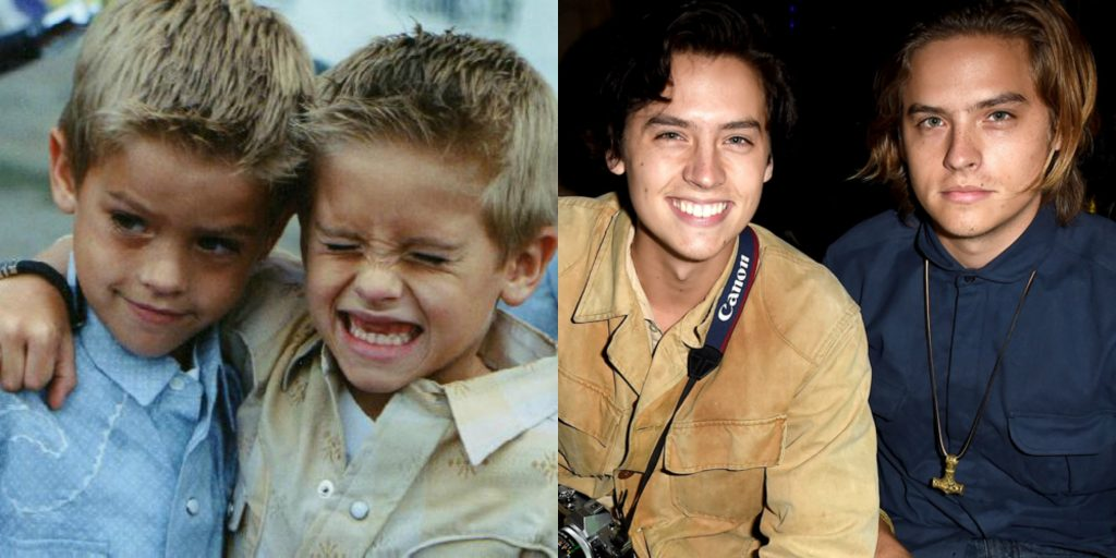 You Won't Believe These Insane Celebrity Transformations ... |Cole And Dylan Sprouse Then And Now